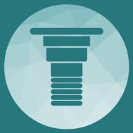 Clínica Dental Granada icono implante